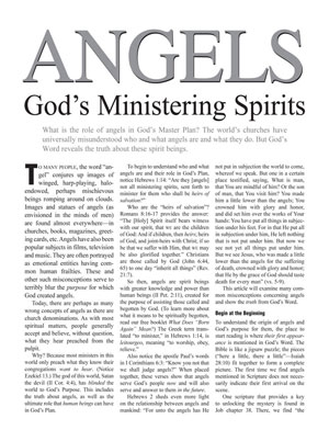 Angels – God's Ministering Spirits