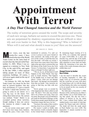 Appointment With Terror – A Day That Changed America and the World Forever