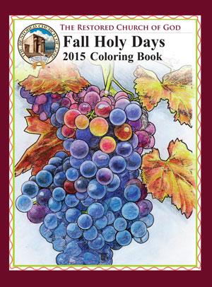 Fall 2015 Coloring Book