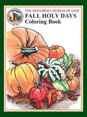 Fall Coloring Book #1