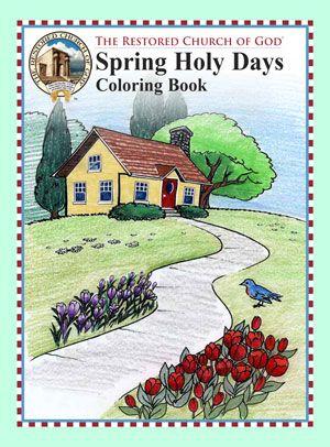 Spring 2019 Coloring Book