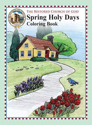 Spring Coloring Book #1