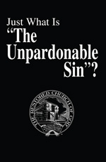 """Image for Just What Is """"The Unpardonable Sin""""?"""