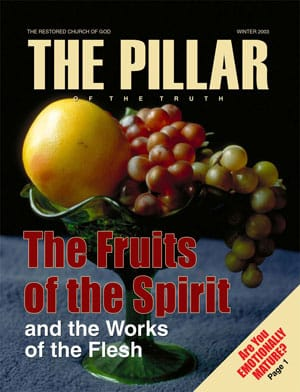 Developing the Fruits of God's Spirit