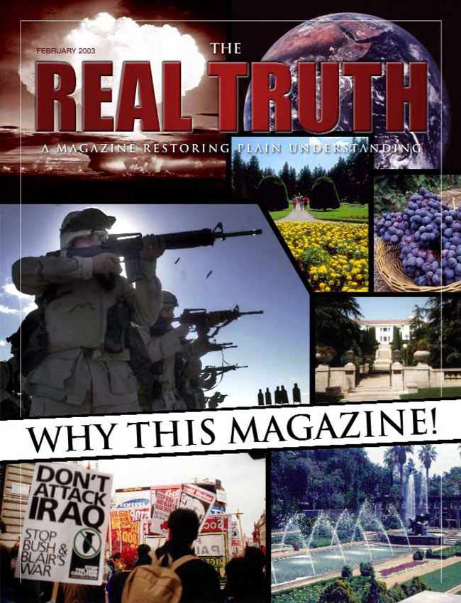 Image for Real Truth PDF February 2003