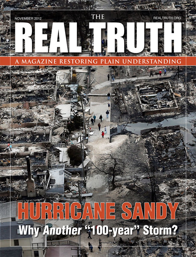 """Image for Real Truth November 2012 – Hurricane Sandy Why Another """"100-year"""" Storm?"""