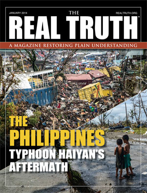 Image for Real Truth January 2014 – The Philippines Typhoon Haiyan's Aftermath