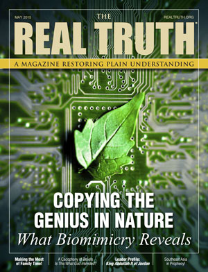 Image for Real Truth May 2015 – Copying the Genius in Nature – What Biomimicry Reveals