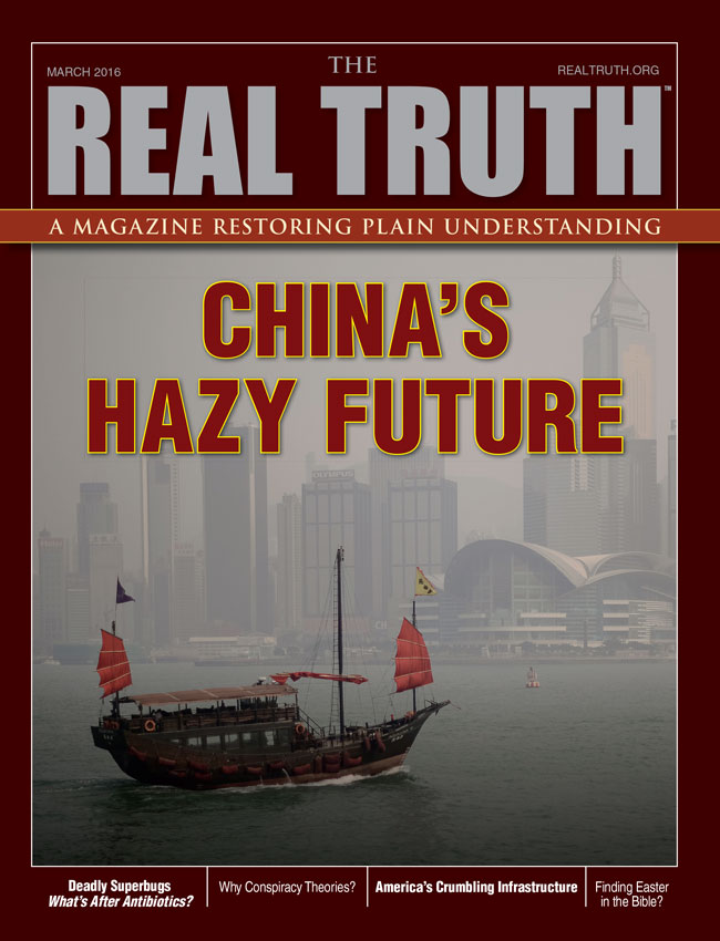 Image for Real Truth March 2016 – China's Hazy Future