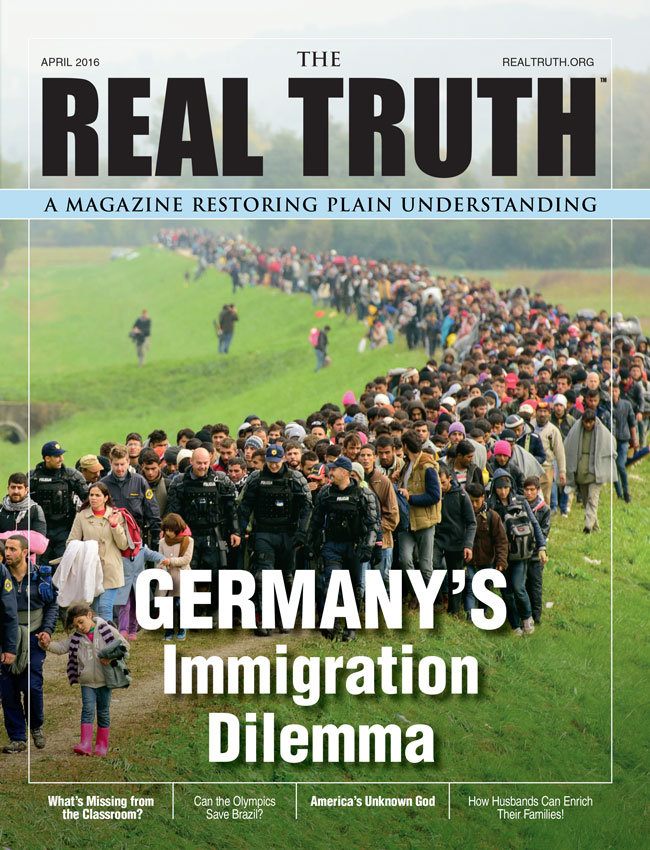 Image for Real Truth April 2016 – Germany's Immigration Dilemma