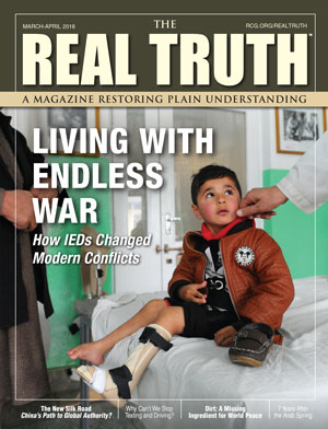 Image for Real Truth March-April 2018 – Living with Endless War – How IEDs Changed Modern Conflicts