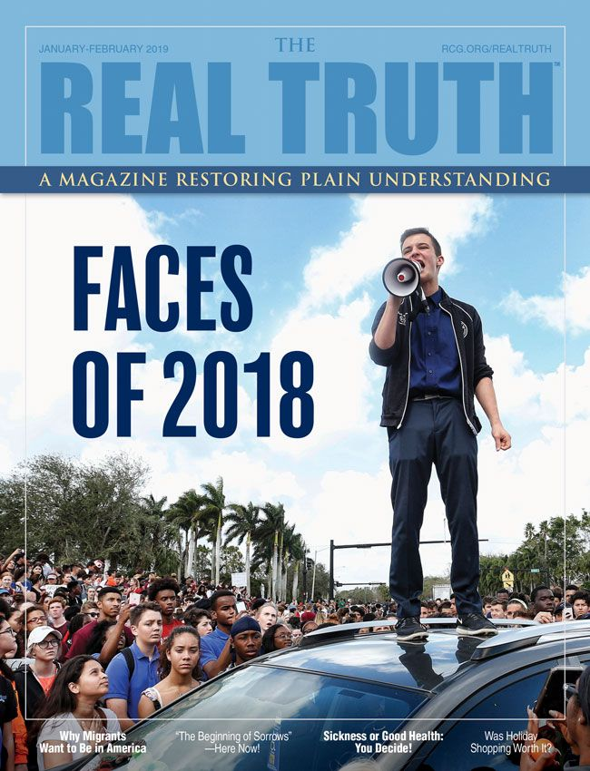 Image for Real Truth January-February 2019 – Faces of 2018