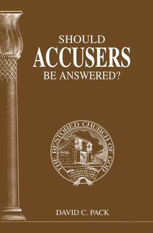 Image for Should Accusers Be Answered?