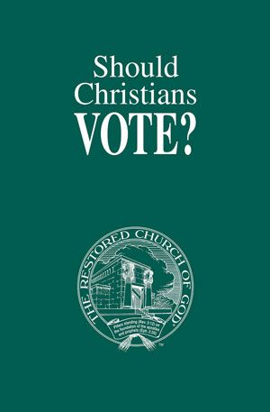 Should Christians Vote?