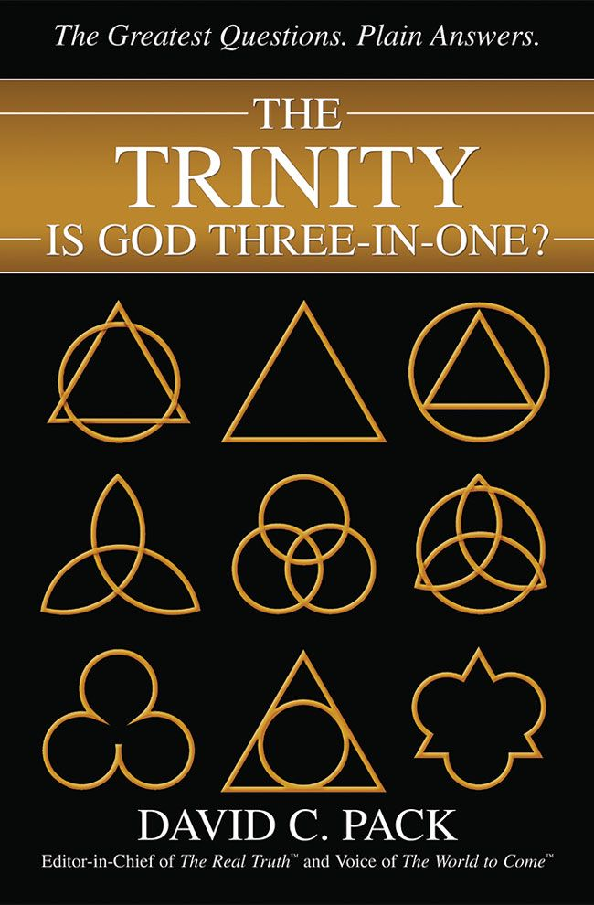 The Trinity Is God Three-In-One?