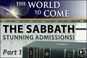 The Sabbath – Stunning Admissions! (Part 1)