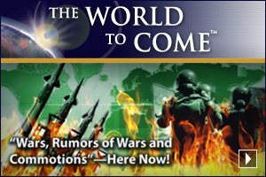 "Christ Foretold ""Wars, Rumors of Wars and Commotions""—Here Now!"