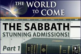 The Sabbath – Stunning Admissions! (Part1)