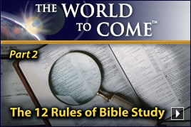 The 12 Rules of Bible Study (Part 2)