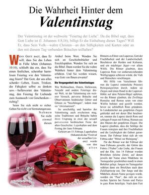 Die Wahrheit Hinter dem Valentinstag