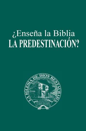 ¿Enseña la Biblia la predestinación?