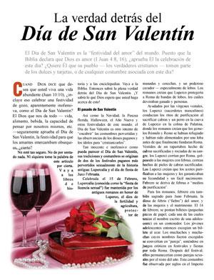 La Verdad Detrás Del Día De San Valentín