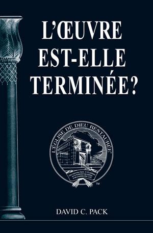 Image for L'ŒUVRE est-elle TERMINÉE?